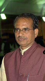 Shivraj Singh Chouhan Chief Minister of Madhya Pradesh