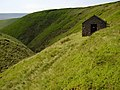 Shooting Cabin on Oyster Clough - geograph.org.uk - 197443.jpg