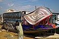 Shoreham-by-Sea houseboat 'Verda', Riverside Moorings, West Sussex, England.jpg