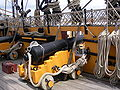 Short 12 pounder in the HMS Victory's Quarterdeck 2.JPG