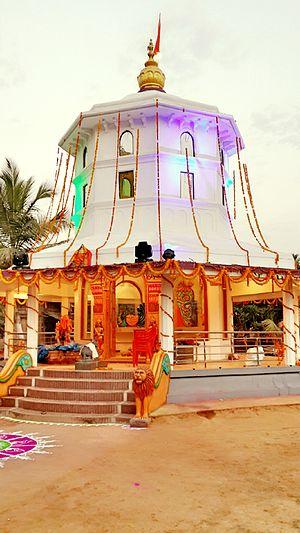 Veerabhadra Devasthan-Vadhav - Image: Shree Kshetra Veerabhadra Devasthan,Vadhav 01