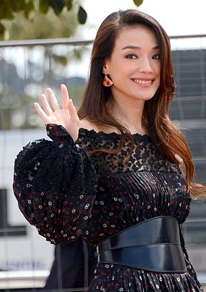 The Assassin (2015 film) - Shu Qi promoting the film at the 2015 Cannes Film Festival