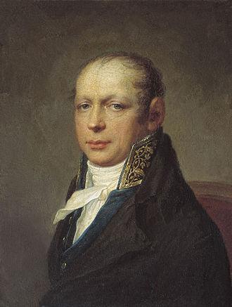 Andreyan Zakharov - Andreyan Zakharov painted by Stepan Shchukin (1754–1828)