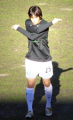 SFWA Footballer of the Year - Shunsuke Nakamura was the 2007 winner.