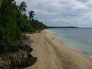 Siaton - Antulang Beach at Siaton