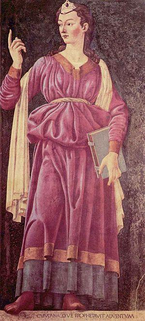 Cumaean Sibyl - Cumaean Sibyl by Andrea del Castagno.