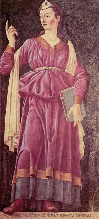 Cumaean Sibyl - Cumaean Sibyl by Andrea del Castagno
