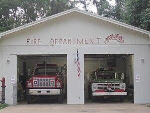 Sicily Island, Louisiana - Image: Sicily Island, LA, Fire Department IMG 0292