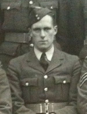 Sid Clewlow - Sid Clewlow whilst serving in the RAF.