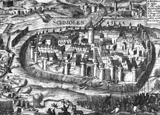 Siege of Smolensk (1609–11) - Image: Siege of Smolensk 1609 1611