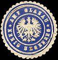 Siegelmarke Amt Glasau - Kreis Segeberg W0221030.jpg