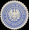 Siegelmarke Amtsbezirk III Elsdorf Kreis Rendsburg W0360489.jpg