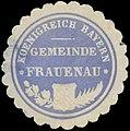 Siegelmarke Gemeinde Frauenau K. Bayern W0352282.jpg