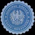 Siegelmarke Gemeinde Röcken Kreis Merseburg W0382856.jpg