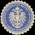 Siegelmarke K. Marine Kommando der Marine-Infanterie und Landfront W0337679.jpg