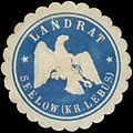 Siegelmarke Landrat Seelow Kreis Lebus W0385396.jpg
