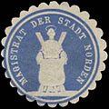 Siegelmarke Magistrat der Stadt Norden W0387220.jpg