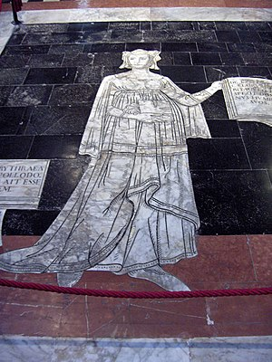 Antonio Federighi - Erythraean Sibyl floor mosaic in the Cathedral of Siena