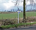 Sign at Fleckney Road-Arnesby Road junction - geograph.org.uk - 735216.jpg