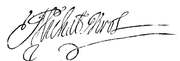 Signature of Miachel Korybut Wiśniowiecki.PNG
