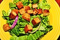 Simple salad, honey mustard vinaigrette (4322931349).jpg