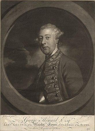 George Howard (British Army officer) - Portrait of Sir George Howard circa 1760