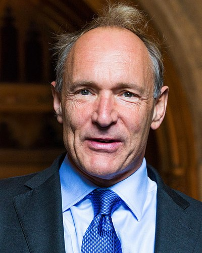 Tim Berners Lee, 20th and 21st-century English computer scientist, inventor of the World Wide Web