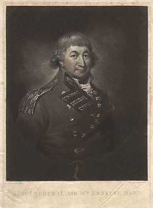 Sir William Erskine, 1st Baronet - Sir William Erskine, 1st Baronet, from a print in the NPG.