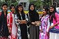 Six Bangladeshi girls at Pohela Boishakh celebration 2016 (01).jpg