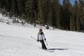 Skier on mountain, Mammoth Lakes, California LCCN2013633747.tif