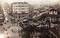 Skopje, plostadot na razglednica od 1930.jpg
