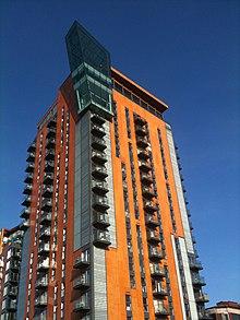 Skyline Central Manchester City Centre
