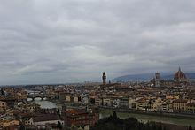 Panorama di Firenze da Piazzale Michelangelo.