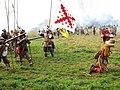 Slag om Grolle 2008-2 - Spaanse soldaten executeren een lafaard.jpg