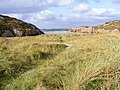 Small cove and sand dunes - geograph.org.uk - 1030750.jpg