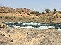 Small stream-like part of Narmada river flow near kevadiya colon 20160602 095419347 iOS.jpg