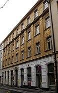 Smetschkagasse 22 in Prag Sitz der Saxo Bavaria 1908 bis 1938 auch Ve Smečkách