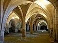 Soissons (02), abbaye Saint-Jean-des-Vignes, cellier, vue diagonale vers le nord-ouest.jpg