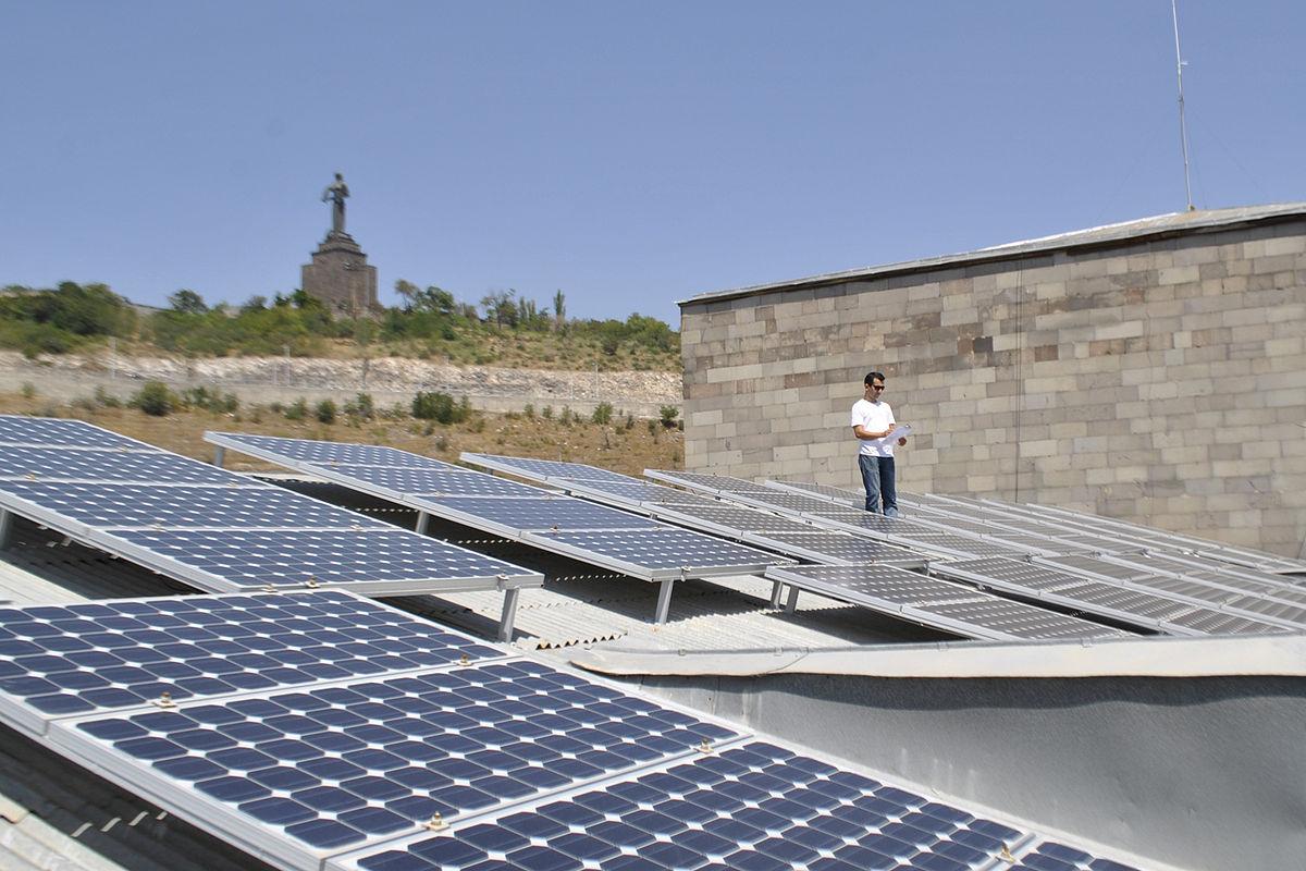 Solar Power In Armenia Wikipedia