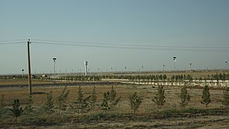 Energy in Afghanistan - Solar lights in the northern Balkh Province