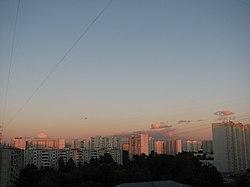 Skyline of Solntsevo縣