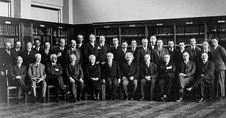 Blas Cabrera Felipe - Image: Solvay conference 1930