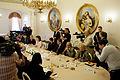 Solvitas Āboltiņas tikšanās ar Gruzijas premjerministru (9687410954).jpg