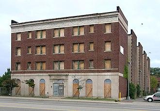Somerset Apartments - Image: Somerset Apartments Detroit MI