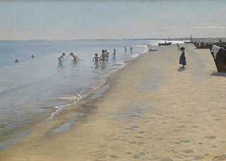 Summer Day at Skagen South Beach