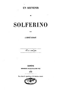 <i>A Memory of Solferino</i> literary work