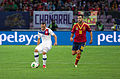 Spain - Chile - 10-09-2013 - Geneva - Marcelo Diaz and Francesc Fabregas.jpg