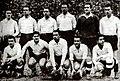 Spanish national football team before the match against Ireland in Dublin, 02.03.1947.jpg