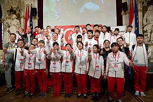 2017 Special Olympics World Winter Games - China at the 2017 Special Olympics Reception in Vienna, Austria