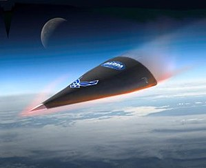 Hypersonic Technology Vehicle HTV-2 reentry (a...